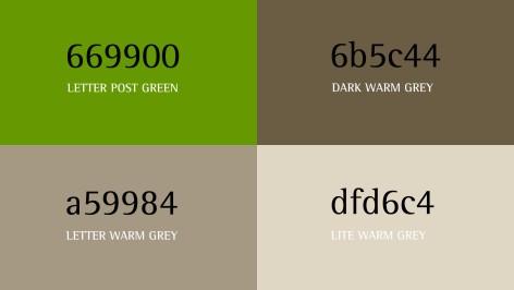 Faceland Farben Design