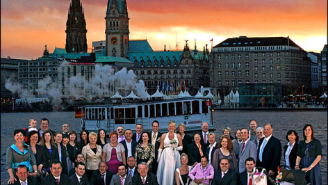 Wedding Hochzeit Foto Gruppenfoto